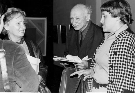 Od lewej red. Irena Beck (PAP), red. Mieczysław Jagoszewski (Dziennik Łódzki), red. Małgorzata Karbowiak (Express Ilustrowany)