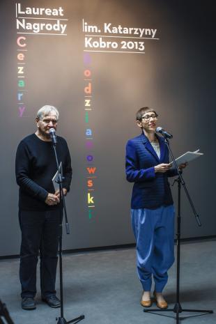 Józef Robakowski i Małgorzata Ludwisiak (zastępca dyrektora ds. promocji i upowszechniania).