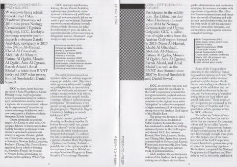 [Informator] Peer-To-Peer. Praktyki kolektywne w nowej sztuce/ Peer-To-Peer. Collective practices in new art [...]