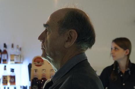 Jan Peszek, laureat Nagrody ms za rok 2015 za udział w kampanii promującej Muzeum Sztuki w Łodzi zatytułowanej Sztuka nie potrzebuje reklamy