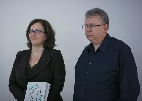Kuratorzy wystawy: Paulina Kurc-Maj (Dział Sztuki Nowoczesnej) i Paweł Polit (Dział Sztuki Nowoczesnej)