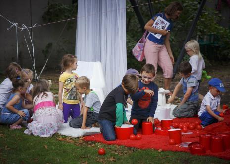 Dada piknik - zajęcia w ogrodzie