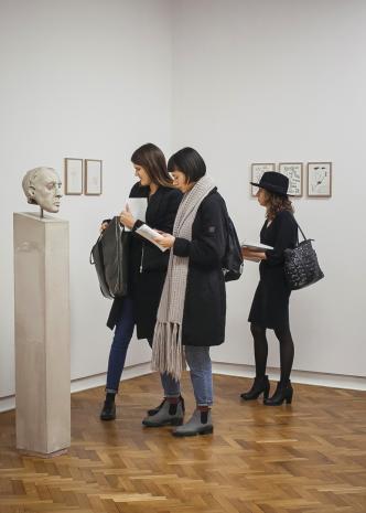 Publiczność i prace Mirosława Bałki