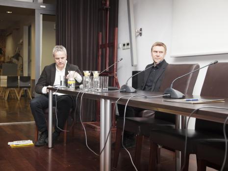 Andrew Nairne i Mirosław Bałka - rozmowa