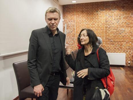 Z lewej Mirosław Bałka