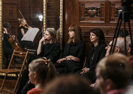 Koncert Kwintetu smyczkowego na 2 altówki, 2 wiolonczele i trupa w sali odczytowej ms