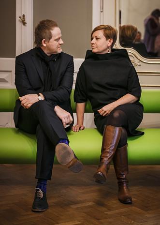 C.T. Jasper i Joanna Malinowska