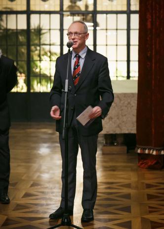Dr hab. Marian Wołkowski-Wolski (Prezes Zarządu Fundacji Książąt Czartoryskich)