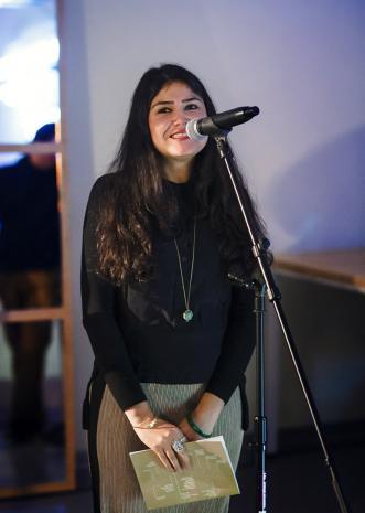Kuratorka wystawy Natasha Ginwala