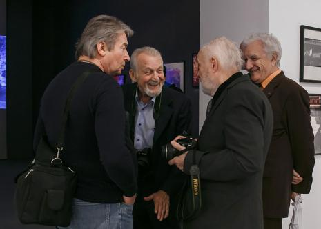 Od lewej Lechosław Czołnowski, Jerzy Wardak, Andrzej Różycki, Czesław Kuchta