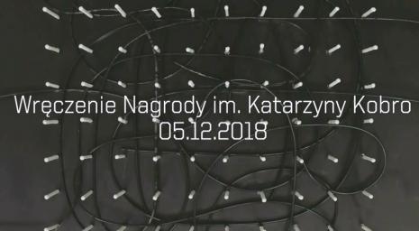 Nagroda im. Katarzyny Kobro dla Piotra Bosackiego