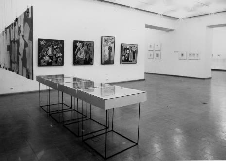 Dokumentacja wystawy Hanach Hoch. Malarstwo - rysunek- collage