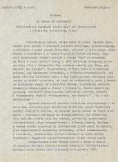 [Komunikat prasowy] Wystawa Od obrazu do fotografii. doświadczenia awangardy radzieckiej lat dwudziestych (fotografie, przezrocza, video)