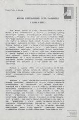 [Komunikat prasowy] Wystawa Międzynarodowej Sztuki Najnowszej z Lyonu w Łodzi.