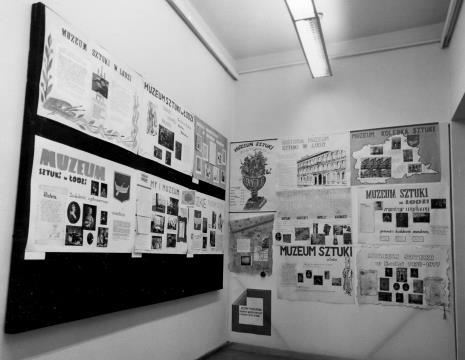 Pokaz prac studentów Pracowni Graficznego Projektowania Przestrzeni Wydziału Grafiki PWSSP w Łodzi prowadzonej przez Stanisława Łabęckiego