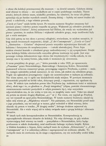 Jan Brzękowski. Garść wspomnień o powstaniu łódzkiej kolekcji sztuki nowoczesnej i o grupie