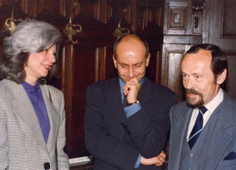 Mary Ann Tabaczyński-Goley, dyr. Jaromir Jedliński, przedstawiciel Federal Reserve System