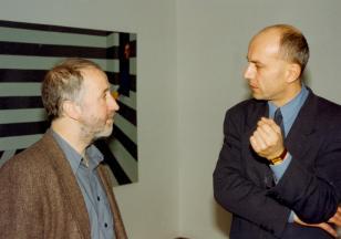 Wizyta Wojciecha Krukowskiego i Krzysztofa Bednarskiego w Muzeum Sztuki