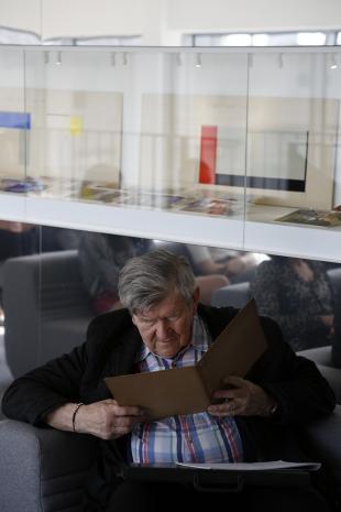 Spotkania na antresoli: Prawdziwy Strzemiński. Prowadzenie Maciej Cholewiński
