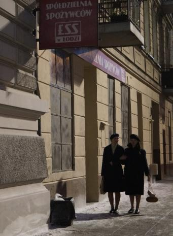 Reportaż z planu filmu Powidoki, reż. Andrzej Wajda