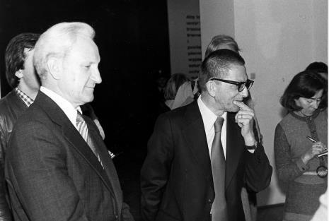Jewgienij Bawykin (I sekretarz ambasady ZSRR w Polsce), dyr. Ryszard Stanisławski, red. J. Pałęcka (Zwierciadło)