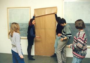 Maria Brewińska, warsztat działań twórczych dla młodzieży szkół średnich