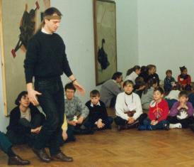 Dariusz Bugalski, My się stracha nie boimy, warsztaty dla dzieci