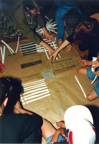 Labirynt - zajęcia dla dzieci w salach muzeum