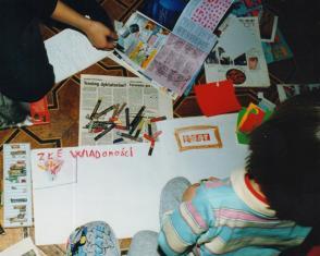 Robimy gazetę - zajęcia dla dzieci pod patronatem Gazety Łódzkiej
