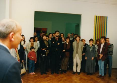 Dyr. Jaromir Jedliński (ms) i publiczność