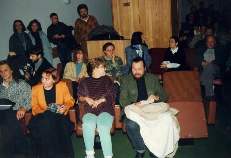 W pierwszym rzędzie druga od lewej Agnieszka Skalska (ms)