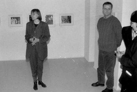 Dyr. Nawojka Cieślińska (ms) i Marek Grygiel