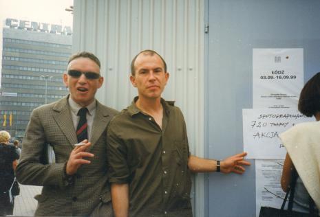 Jacek Bieleński i Alexander Honory