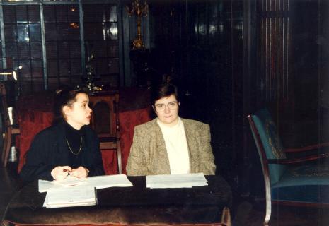 Z lewej Anne Butterfeld
