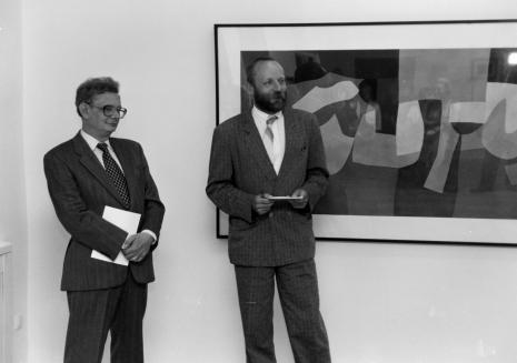 Z prawej dyr. Mirosław Borusiewicz (ms)