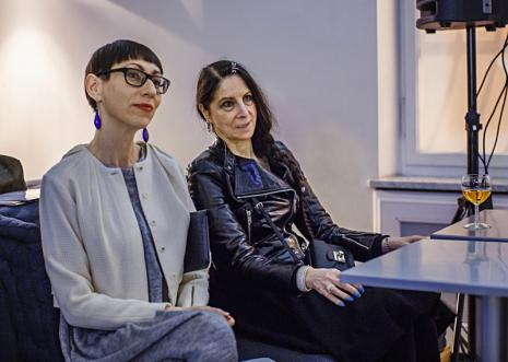Z lewej Małgorzata Ludwisiak (wicedyrektor ms)