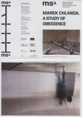 [Informator/Folder] Marek Chlanda. A Study of Obedience.