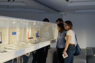 Prezentacja materiałów archiwalnych o Sali Neoplastycznej