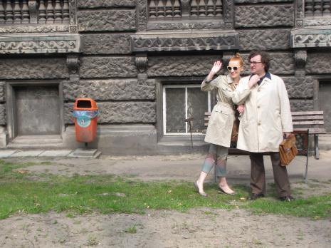 Monika Chojnacka i Cezary Bodzianowski