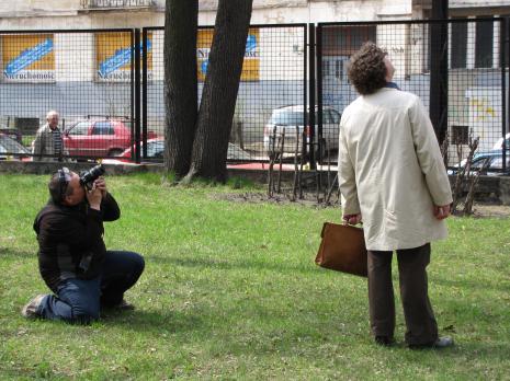 Fotoreporter i Cezary Bodzianowski