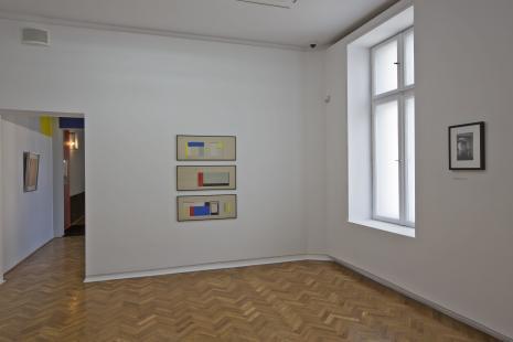 Dokumentacja wystawy - Sala Neoplastyczna - projekty rekonstrukcji wykonane przez Bolesława Utkina