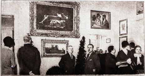 Otwarcie Miejskiego Muzeum Historii i Sztuki im. J. i K. Bartoszewiczów, Łódź w Ilustracji 1930, nr 16