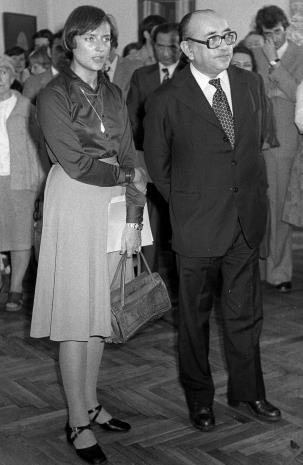 Coldomiro Almeyda-Medina z tłumaczką