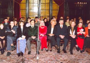Salon muzyczny w Pałacu Herbsta. Występ Kwartetu Pomorskiego