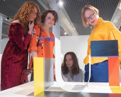 Pracownice Działu Komunikacji: Maria Gmerek, Aleksandra Żabowska, Natalia Słaboń, Karolina Dróżdż