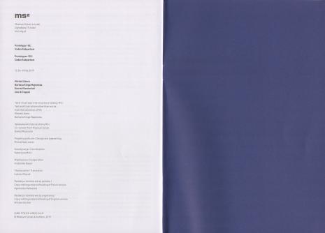[Informator] Prototypy/02: Codex Subpartum/ Prototypes/02: Codex Subpartum [...]