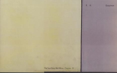 [Zaproszenie] R.H. Quaytman. Słońce nie porusza się. rozdział 35/The Sun Does Not Move. Chapter 35 [...]