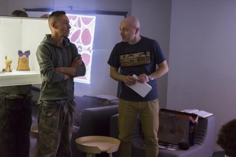 Andrzej Miastkowski (pseud. Egon Fietke, Wspólnota Leeeżeć), Maciej Cholewiński (Dział Dokumentacji Naukowej)