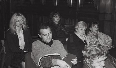 Wizytatorzy w sali odczytowej