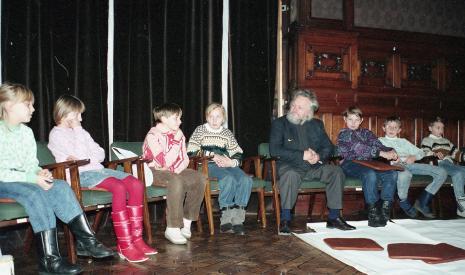 Gerard Blum-Kwiatkowski, zajęcia plastyczne dla dzieci